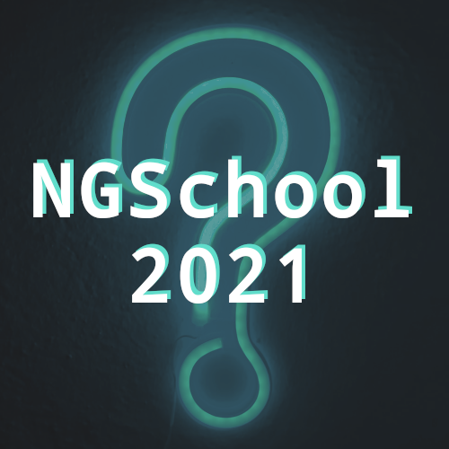 NGSchool2021 - Register your interest!
